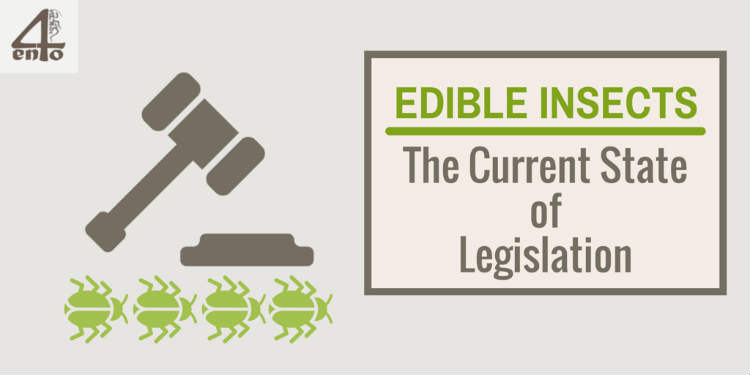 Edible Insects and the Current State of Legislation