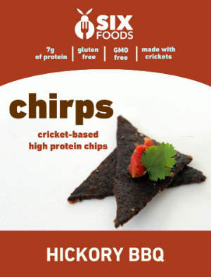 Chirps BBQ Flavor - Six Foods