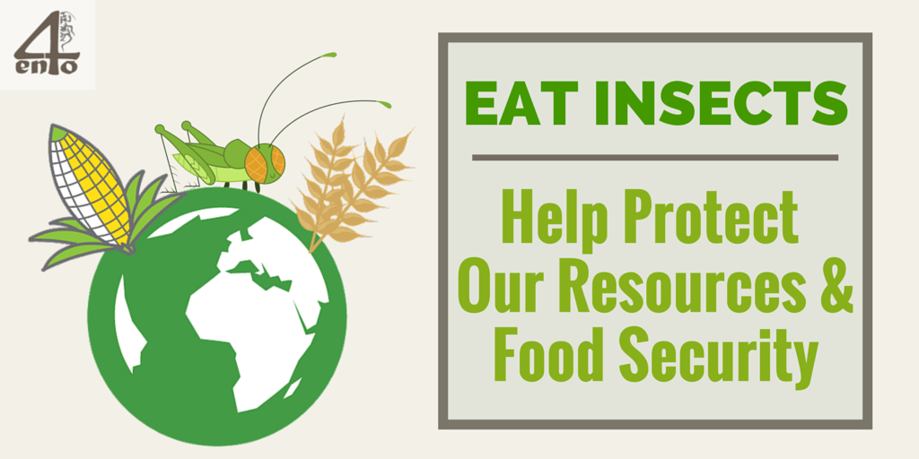 Eat More Insects - Help Protect Our Resources and Food Security