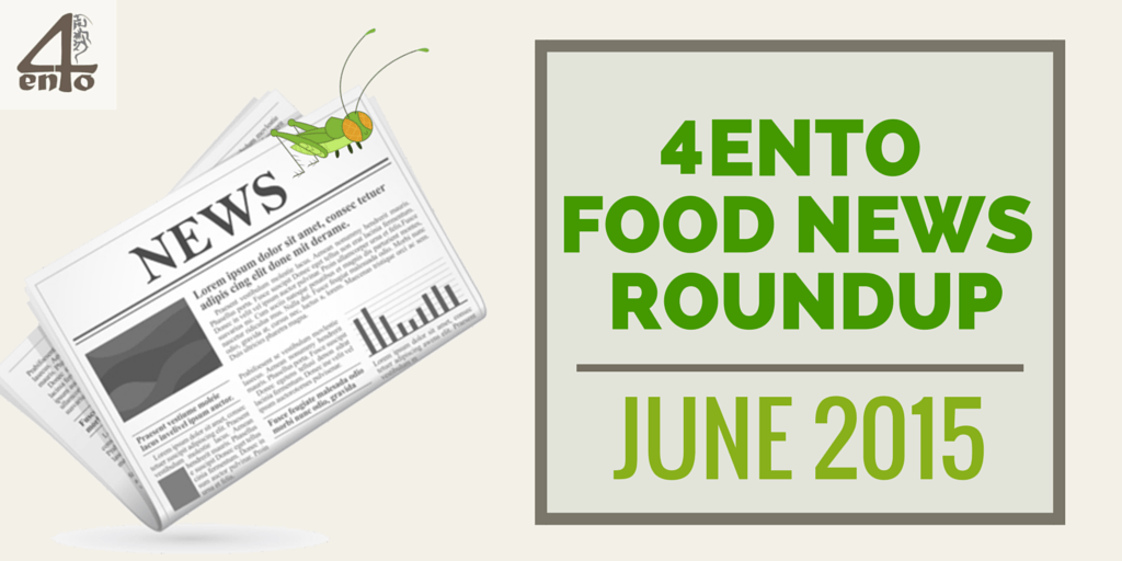 4Ento News Roundup June 2015