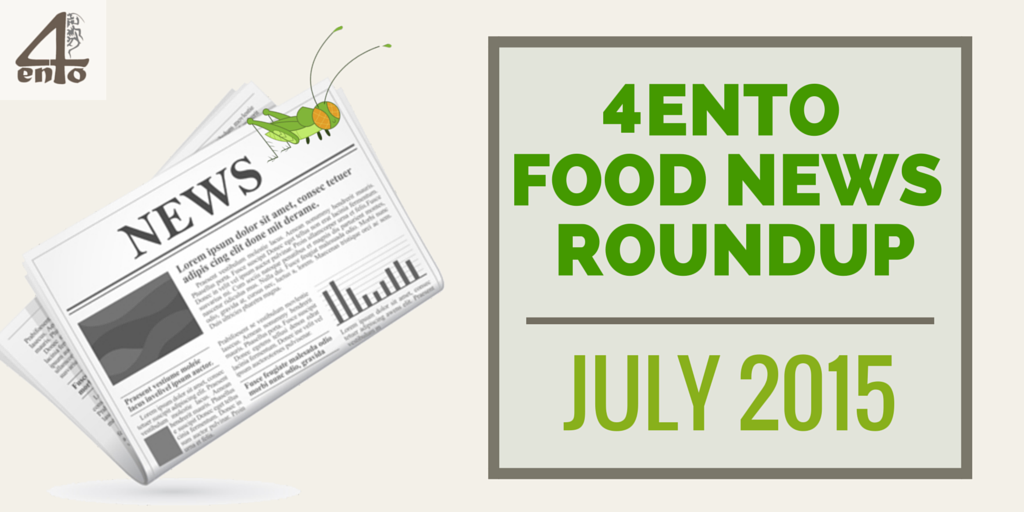 4Ento Food Roundup July 2015
