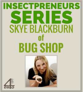 Insectpreneur Series: Interview with Skye Blackburn of Bug Shop