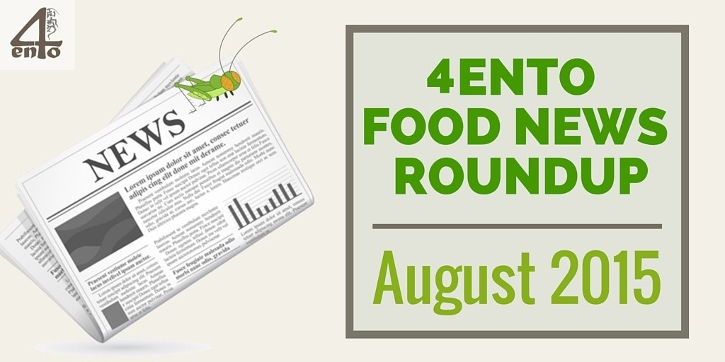 4Ento Food Roundup August 2015