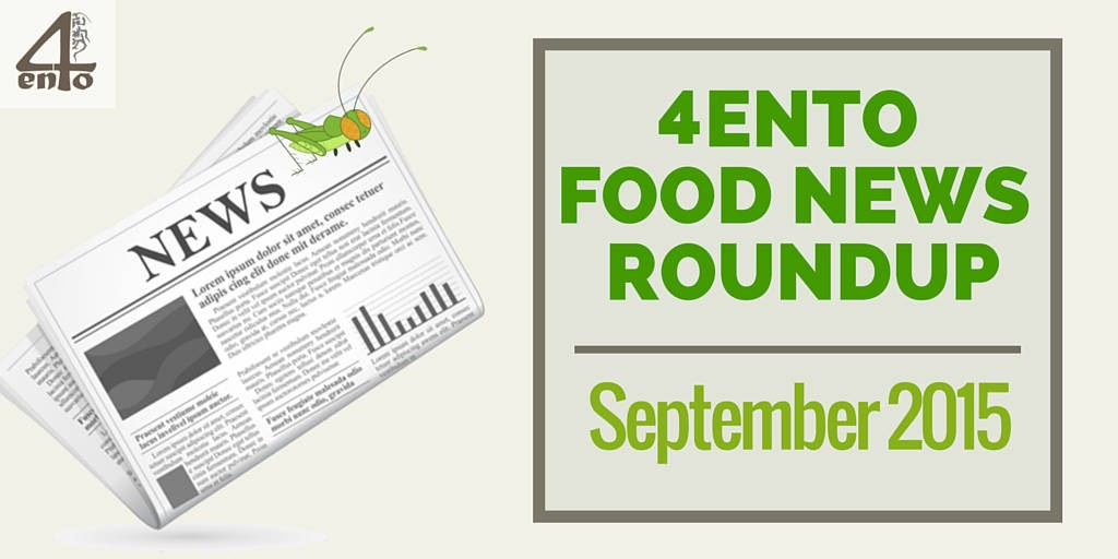 4Ento Monthly Food Roundup - September 2015