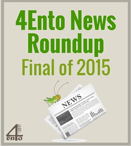 4Ento Food News Roundup: End of 2015