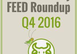 4Ento Feed News Roundup – Q4 2016
