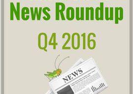 4Ento Food News Roundup – Q4 2016