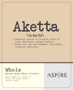 Aketta Aspire Crickets