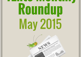 4Ento Insect News Roundup May 2015 – Celebrities, Events, News, Videos and more