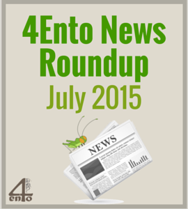 4Ento Food News Roundup: July 2015