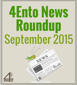 4Ento Food News Roundup: September 2015