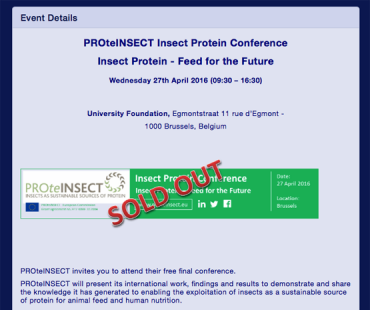 PROteINSECT Final Conference